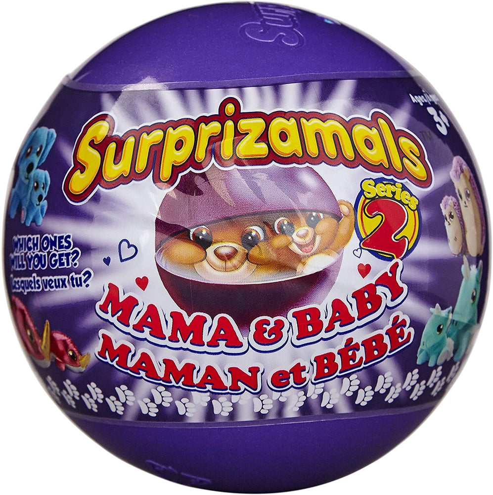 Surprizamals Mama & Baby Series 2 Surprise Ball - JKA Toys