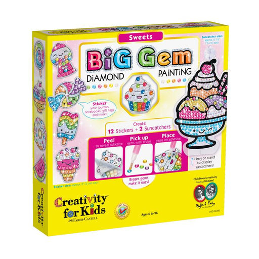 Sweets Big Gem Diamond Painting - JKA Toys