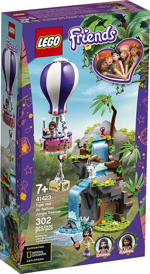 LEGO Friends Tiger Hot Air Balloon Jungle Rescue