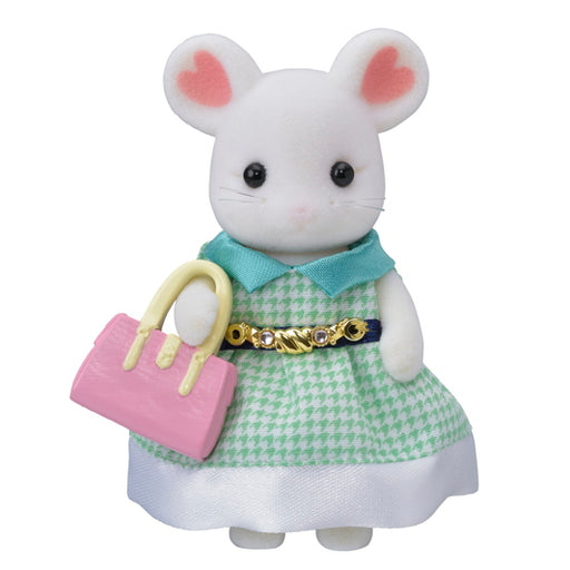 Calico Critters Town Girl Marshmallow Mouse - JKA Toys