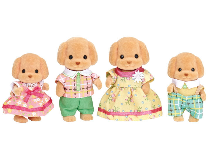Calico Critters Toy Poodle Family - JKA Toys