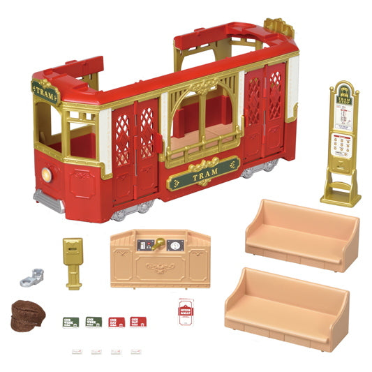 Calico Critters Ride Along Tram - JKA Toys
