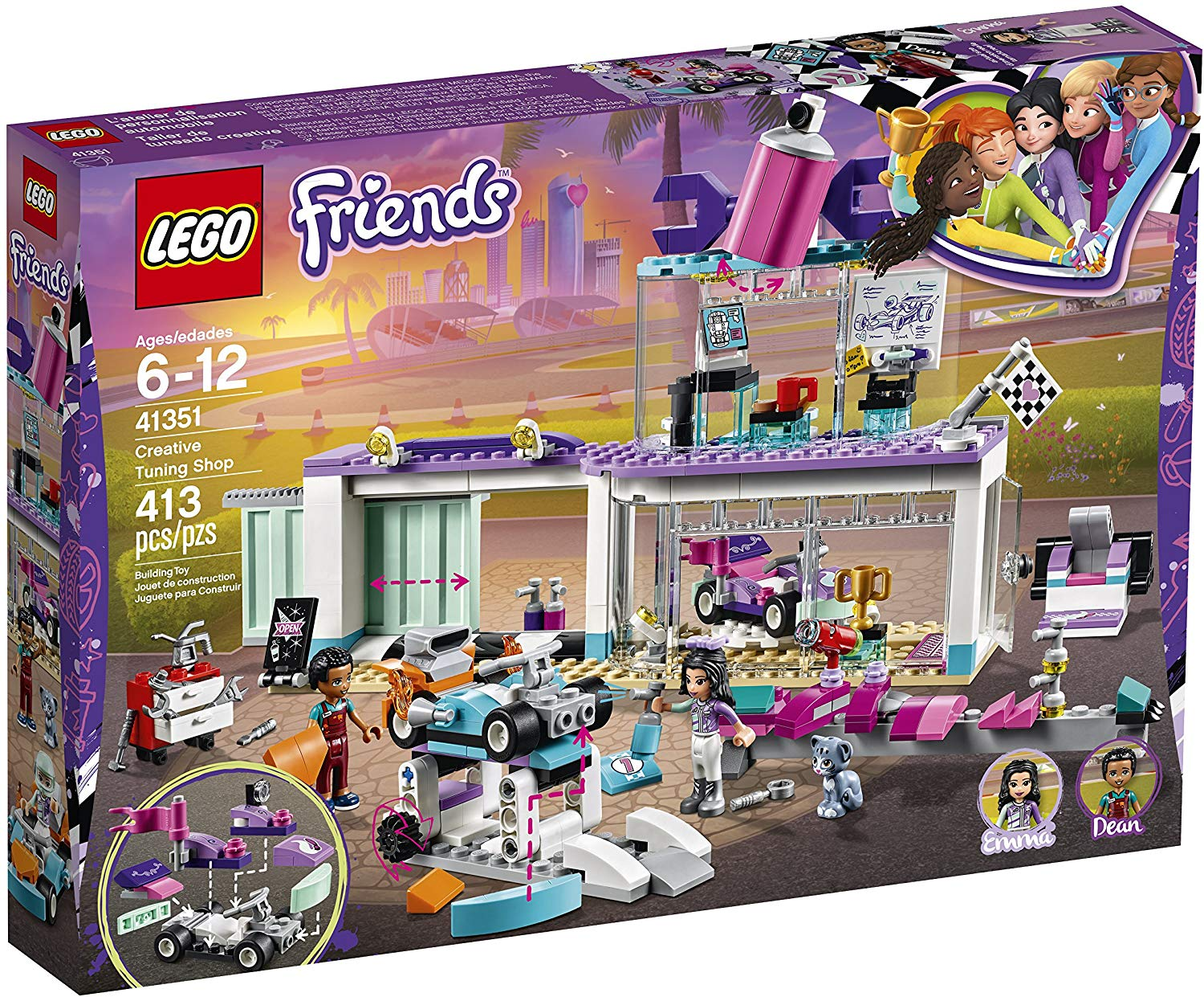 LEGO Friends Creative Tuning Shop - JKA Toys