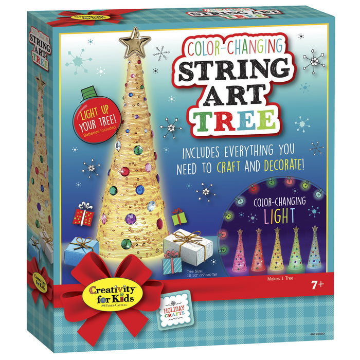 Color-Changing String Art Tree Craft Kit - JKA Toys