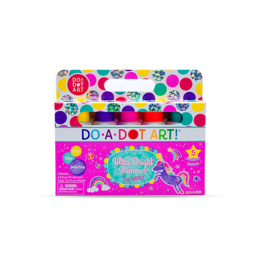 Do-A-Dot Ultra Bright Shimmer Dot Markers - JKA Toys