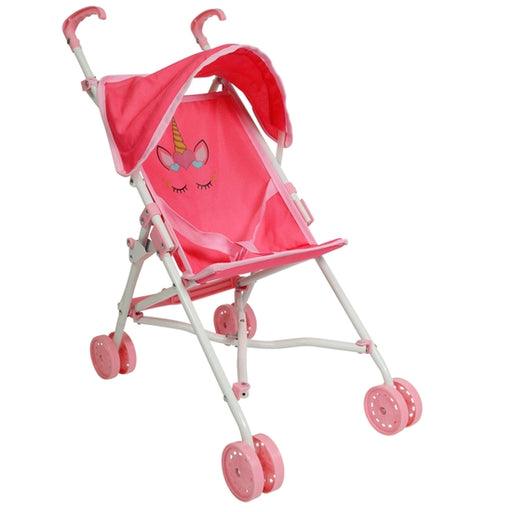 Unicorn Doll Umbrella Stroller - JKA Toys