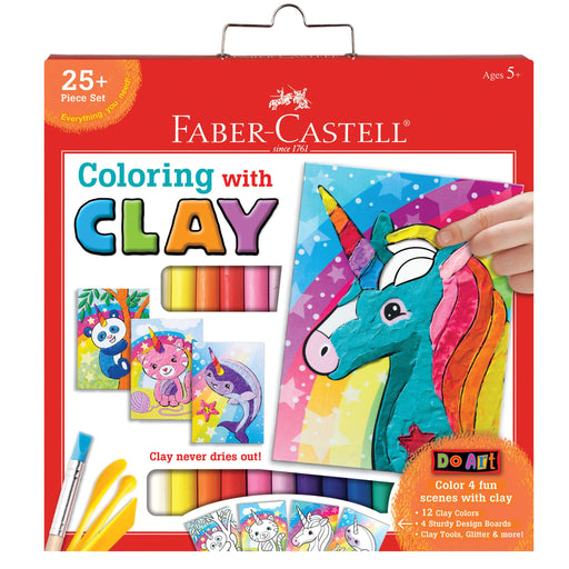 Unicorn and Friends Coloring With Clay - JKA Toys