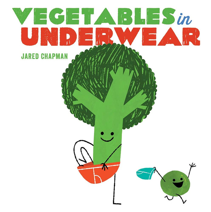 Vegetables In Underwear Board Book - JKA Toys