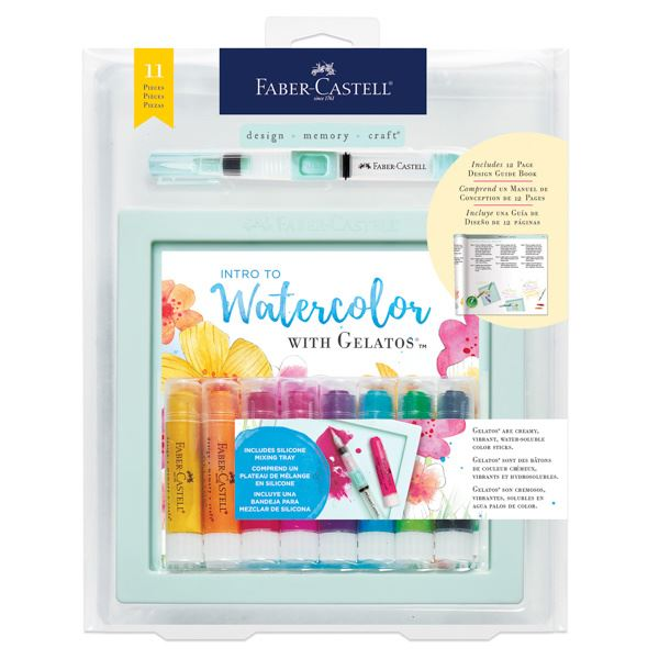 Intro To Watercolor with Gelatos - JKA Toys