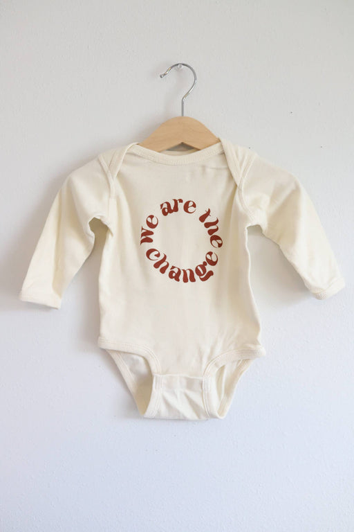 We Are The Change Bodysuit Size 12 Months