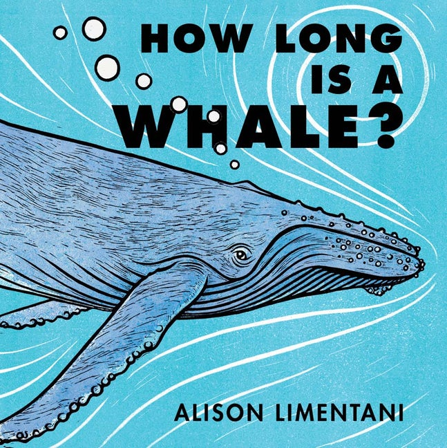 How Long Is A Whale? Hardcover Book - JKA Toys