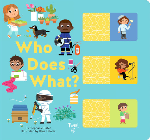 Who Does What? A Slide and Learn Book - JKA Toys