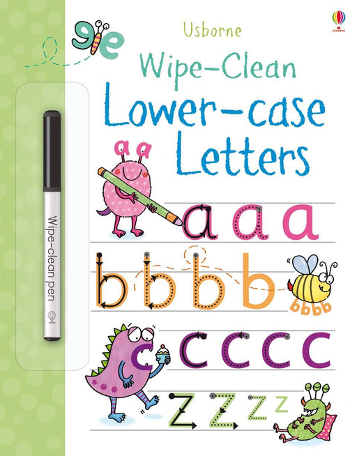 Wipe-Clean Lower-Case Letters - JKA Toys