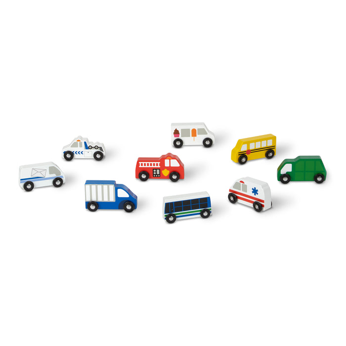 Wooden Town Vehicles - JKA Toys