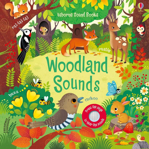 Woodland Sounds Book - JKA Toys