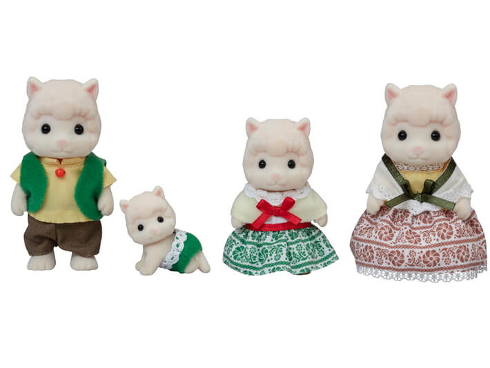 Calico Critters Wooly Alpaca Family - JKA Toys