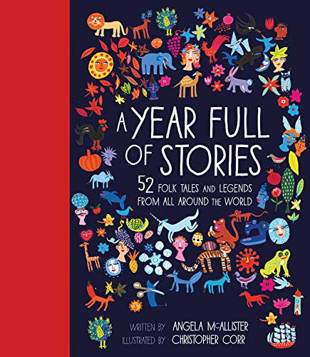 A Year Full Of Stories: 52 Classic Stories From All Around The World Hardcover Book - JKA Toys