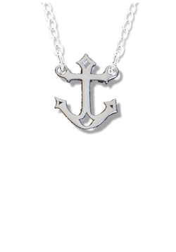 Anchor Choker Necklace - Hannah's Closet - The Official Boutique for Delta Gamma
