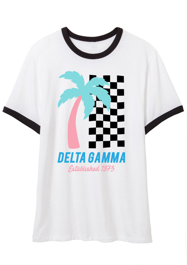 Daytona Ringer - Hannah's Closet - The Official Boutique for Delta Gamma