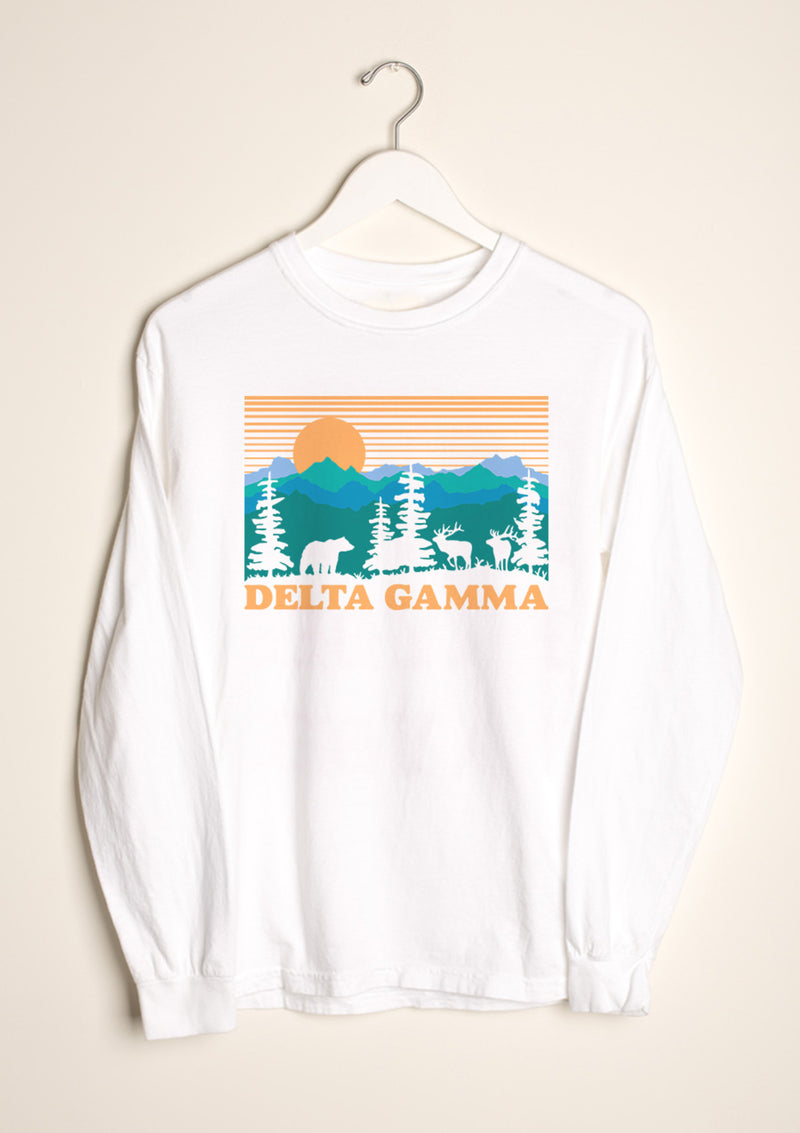 Deer Valley Longsleeve - Hannah's Closet - The Official Boutique for Delta Gamma