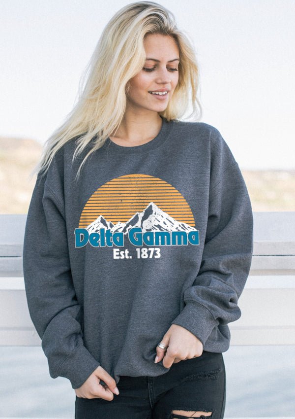 Everest Crewneck - Hannah's Closet - The Official Boutique for Delta Gamma