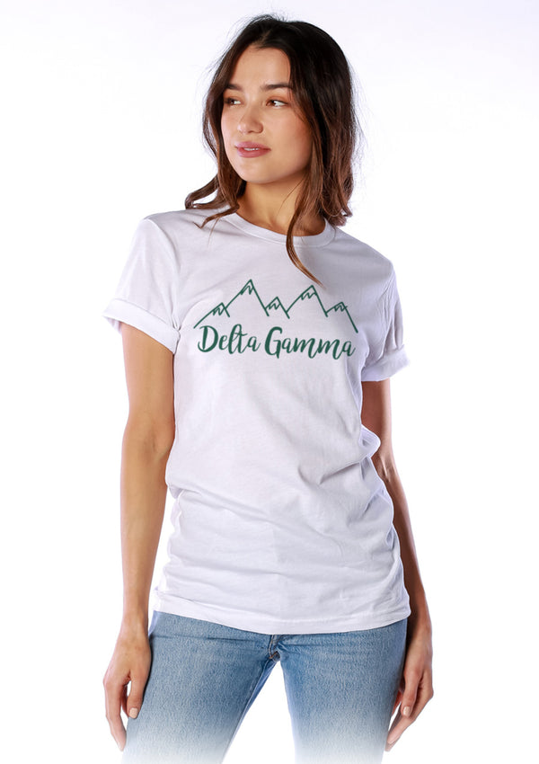 Mountain Doodle Tee - Hannah's Closet - The Official Boutique for Delta Gamma
