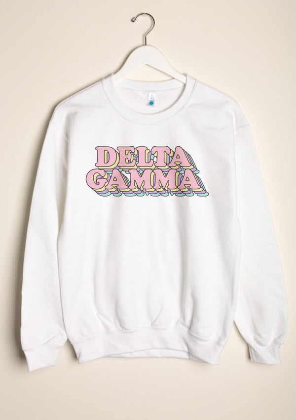 Retro Crewneck - Hannah's Closet - The Official Boutique for Delta Gamma