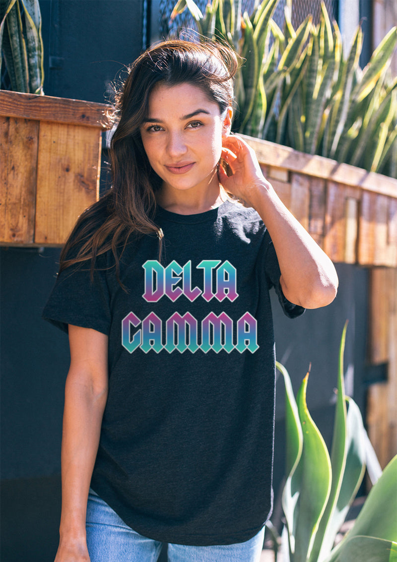 Rock n Roll Tee - Hannah's Closet - The Official Boutique for Delta Gamma
