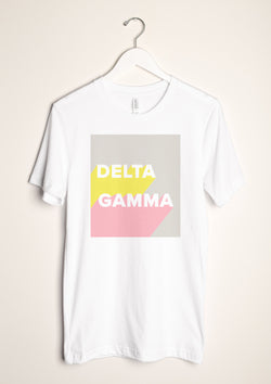 Shadow Box Tee - Hannah's Closet - The Official Boutique for Delta Gamma