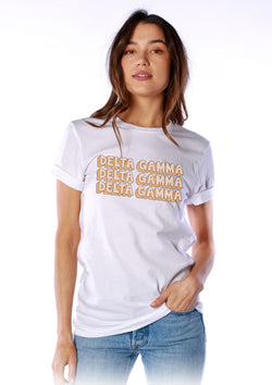 Stone Age Tee - Hannah's Closet - The Official Boutique for Delta Gamma