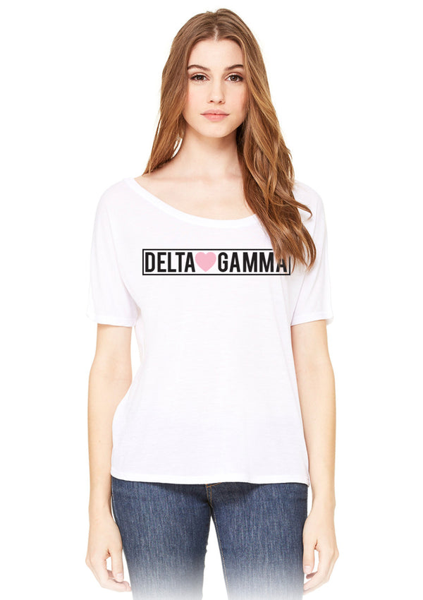 Sweetheart Tee - Hannah's Closet - The Official Boutique for Delta Gamma