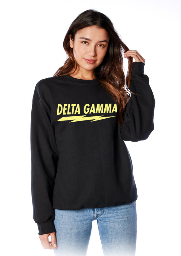 Voltage Crewneck - Hannah's Closet - The Official Boutique for Delta Gamma