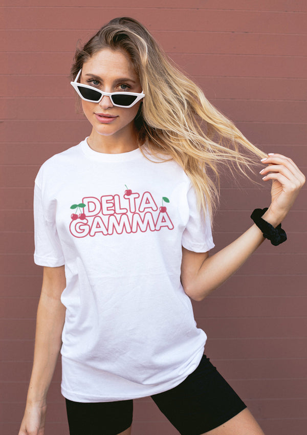Wild Cherry Tee - Hannah's Closet - The Official Boutique for Delta Gamma