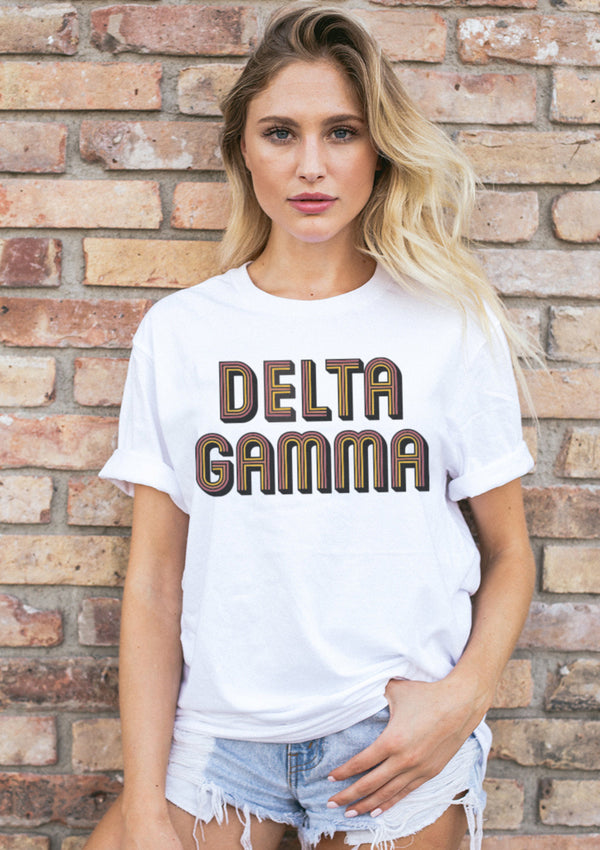 Woodstock Tee - Hannah's Closet - The Official Boutique for Delta Gamma