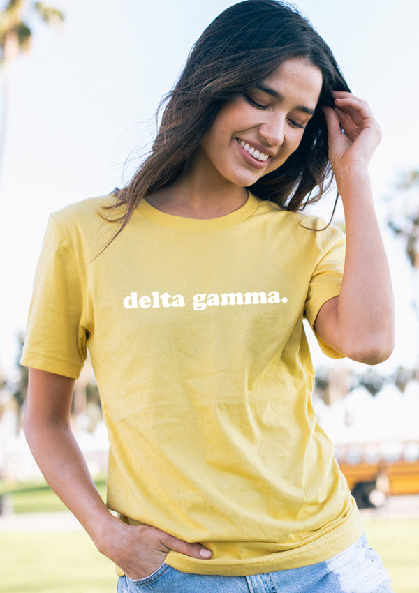 Simple Tee - Hannah's Closet - The Official Boutique for Delta Gamma