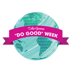 Do Good Week Decal - Hannah's Closet - The Official Boutique for Delta Gamma