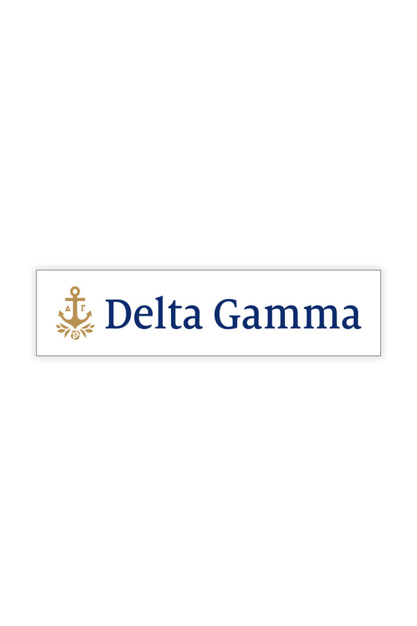 Classic Decal - Hannah's Closet - The Official Boutique for Delta Gamma