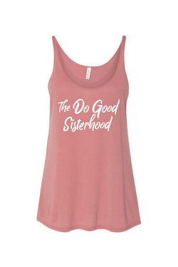 The Do Good Sisterhood Tank - Hannah's Closet - The Official Boutique for Delta Gamma