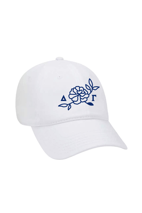 Floral New Brand Hat - Hannah's Closet - The Official Boutique for Delta Gamma