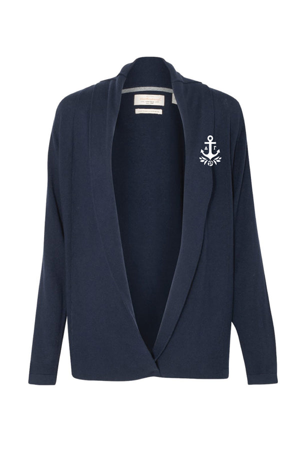 Classic Logo Cardigan - Hannah's Closet - The Official Boutique for Delta Gamma
