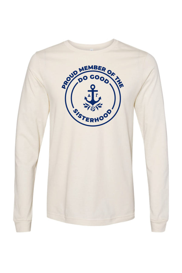 Proud Member LS Tee - Hannah's Closet - The Official Boutique for Delta Gamma