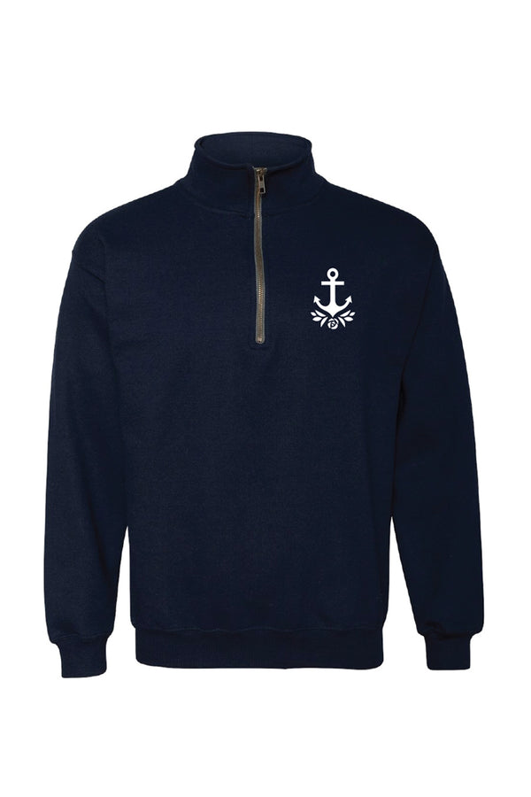 New Brand Logo 1/4 Zip Pullover - Hannah's Closet - The Official Boutique for Delta Gamma