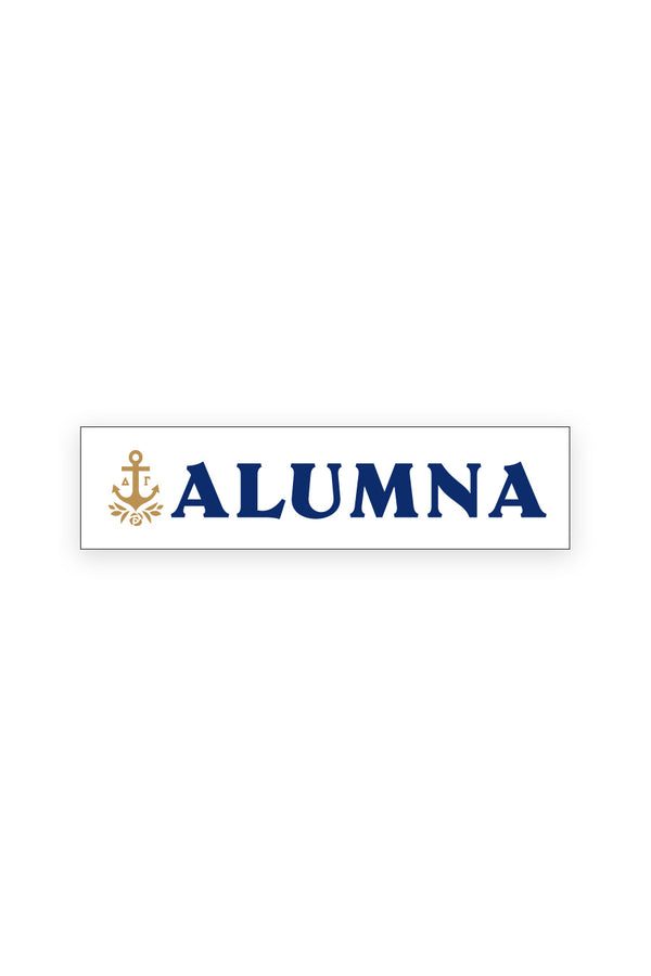 Alumna Logo Decal - Hannah's Closet - The Official Boutique for Delta Gamma