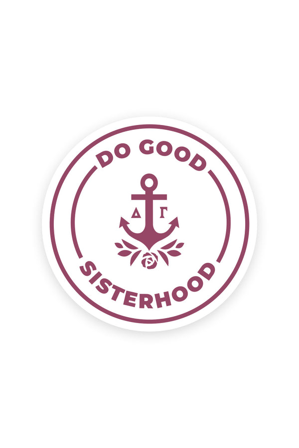 Do Good Sisterhood Decal - Hannah's Closet - The Official Boutique for Delta Gamma