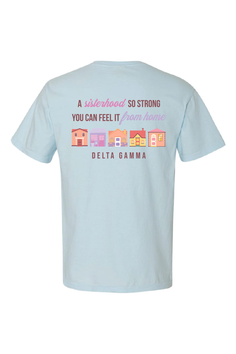 Strength In Sisterhood Tee - Hannah's Closet - The Official Boutique for Delta Gamma