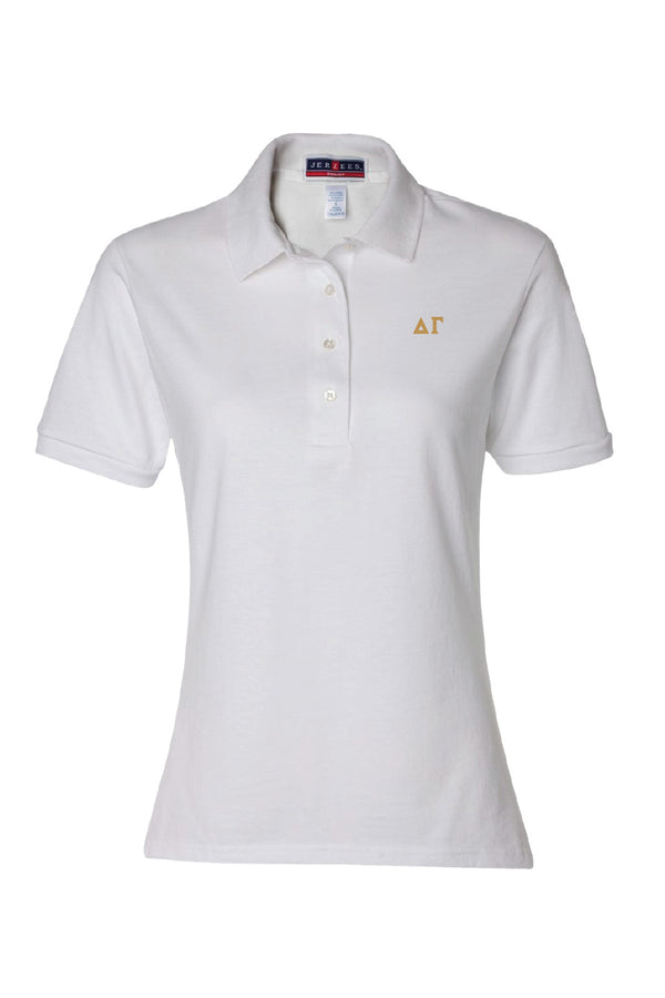 Gold Letter Alumna Polo