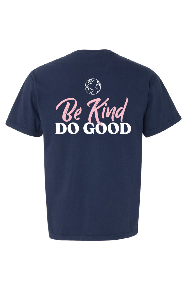 "Do Good Week Navy ""Be Kind"" Pocket Tee"