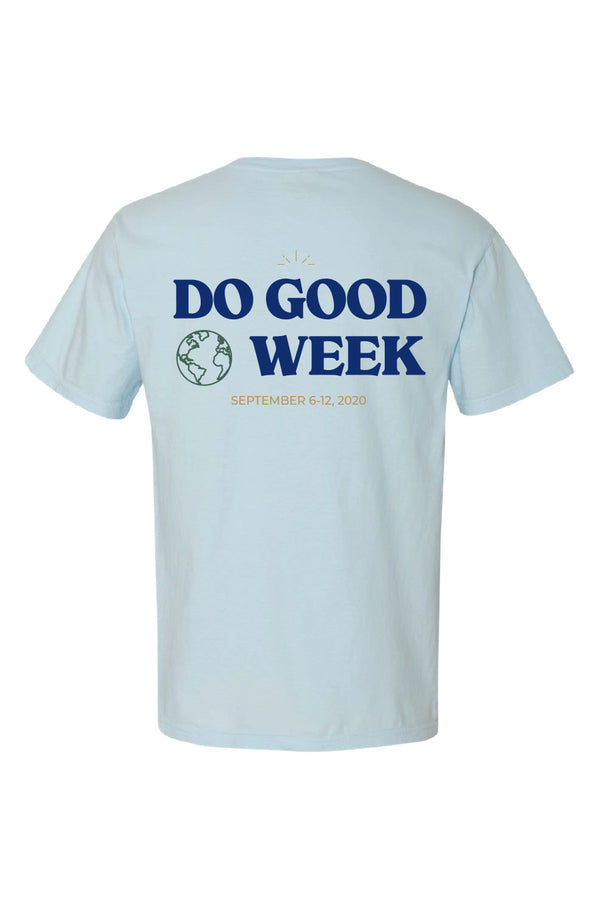 Do Good Week Chambray World Tee