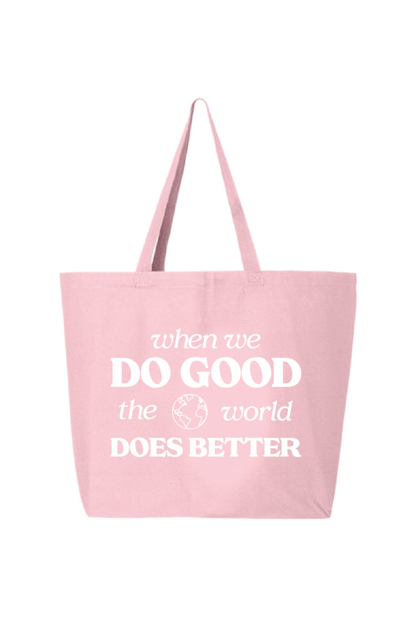 Do Good World Tote