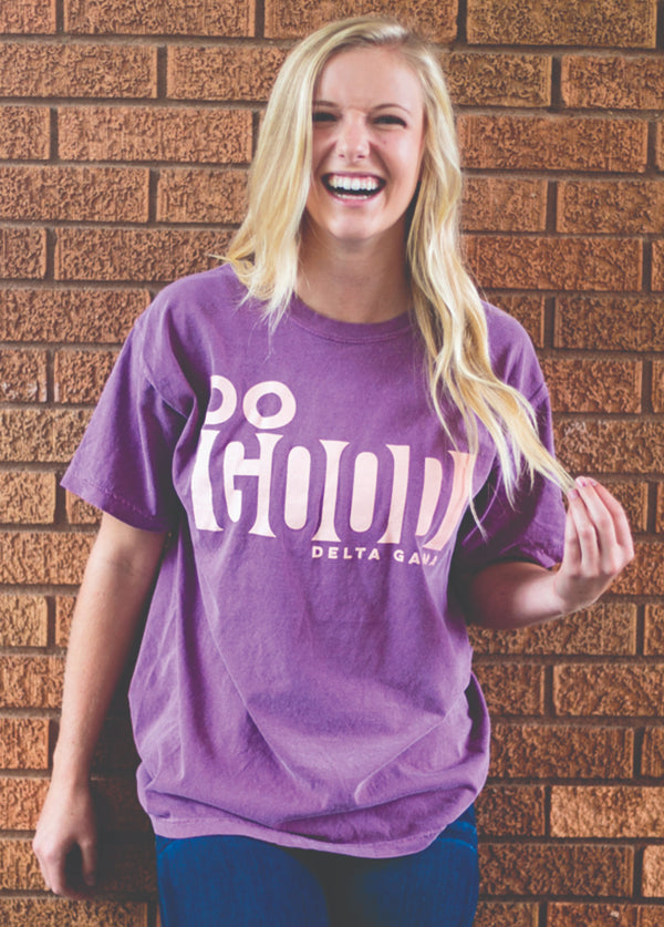 Berry Do Good Short Sleeve Shirt - Hannah's Closet - The Official Boutique for Delta Gamma
